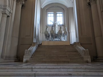 Inside the Victor Emmanuel II monument