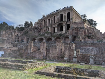Adjacent to the Ancient Roman Forum, this is the ancient marketplace