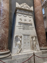 Monument to the fallen Stuart line of Catholic Kings of Britain, St. Peter's Basilica, Vatican City