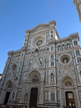 The Florence Duomo, such a marvelous piece of architecture